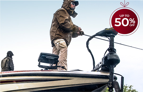 Up to 50% off fishing