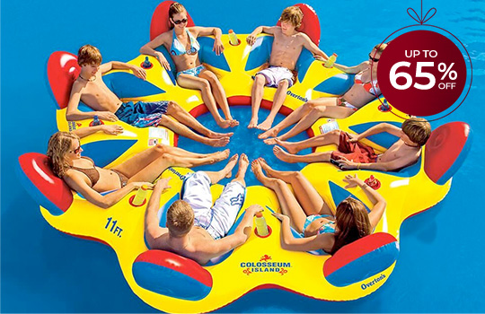 Up to 65% off lake and pool leisure